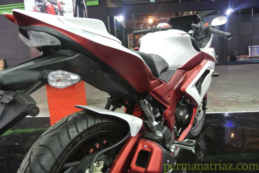 Modified TVS Apache RTR 200 in Indonesia with Images