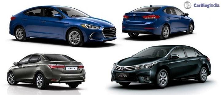 New 2016 Hyundai Elantra vs Toyota Corolla Altis Comparison new-2016-hyundai-elantra-vs-toyota-corolla-altis