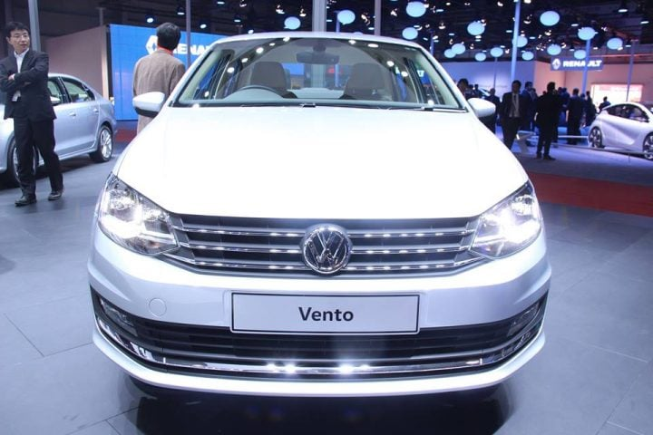 volkswagen vento highline plus front