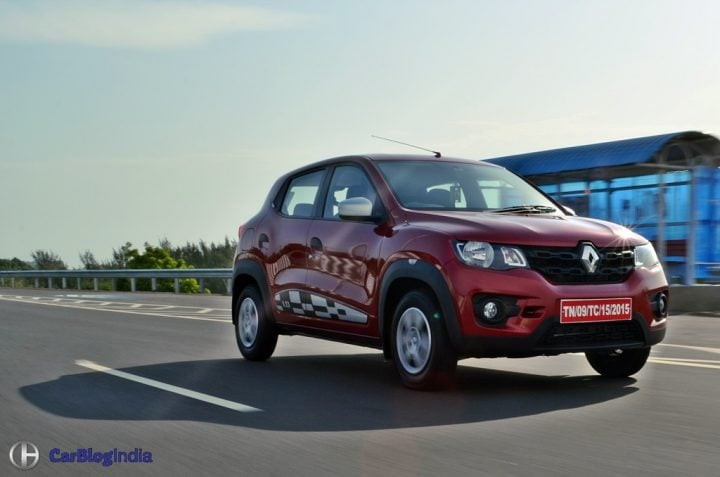 Most Fuel Efficient Petrol Cars in India renault-kwid-1.0-review