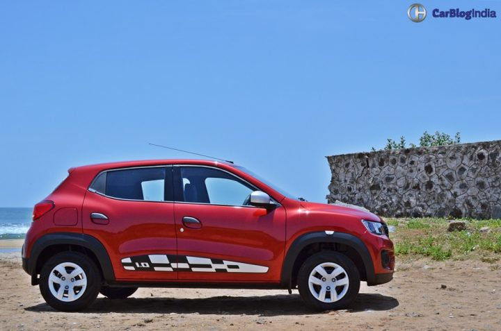 Renault Kwid 1000cc Test Drive Review, Mileage, Specifications renault-kwid-1000cc-test-drive-review-side