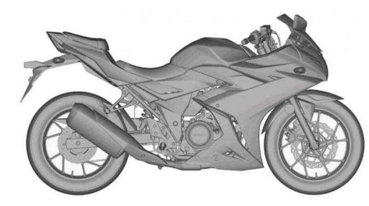 suzuki gixxer 250 patent images side view