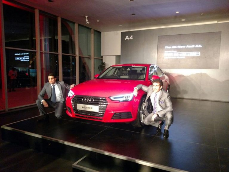 Audi Gurgaon Launches the All-new A4 30 TFSI