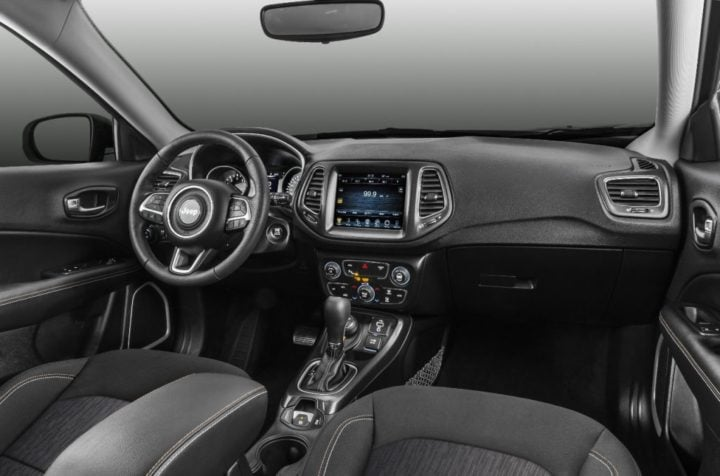 2017 jeep compass india interiors