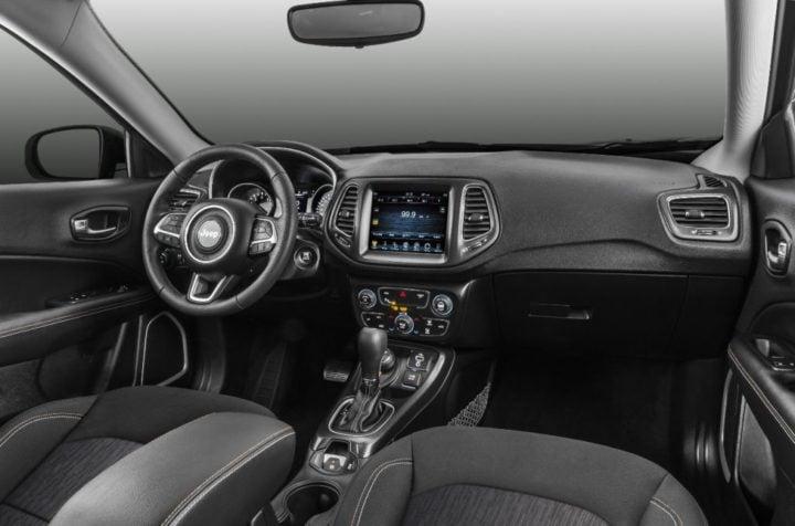2017 jeep compass india interiors