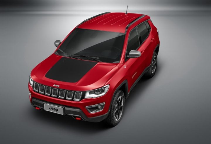 2017 Jeep Compass Trailhawk Images