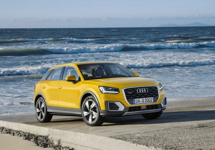 upcoming cars in India 2017 - Audi Q2
