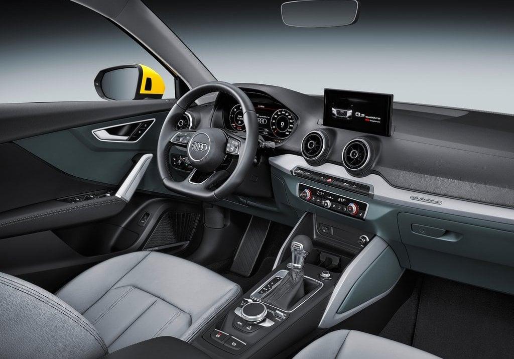 Audiqindiaofficialimagesinteriors CarBlogIndia - Audi car q2
