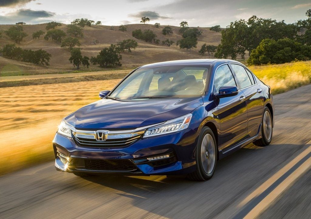 Honda Accord - Honda's only hybrid vehicle in India right now.