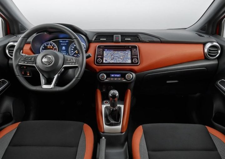 New Nissan Micra 2017 India Launch Date, Price, Specifications, Mileage 2017-nissan-micra-official-images-dashboard