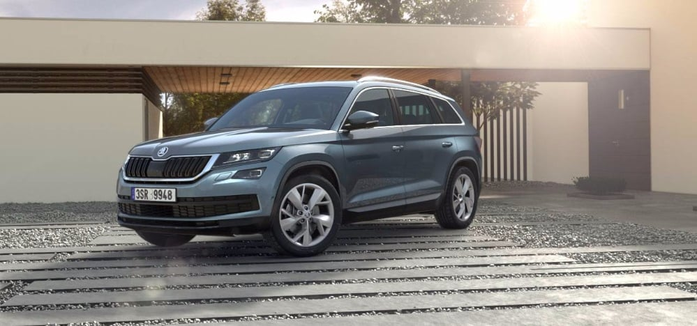 skoda kodiaq india price 27 lakh launch 2017 specs interior images. Black Bedroom Furniture Sets. Home Design Ideas