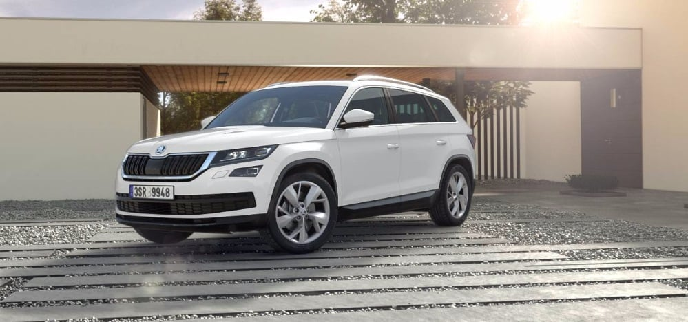 2017 skoda kodiaq india colours candy white carblogindia. Black Bedroom Furniture Sets. Home Design Ideas