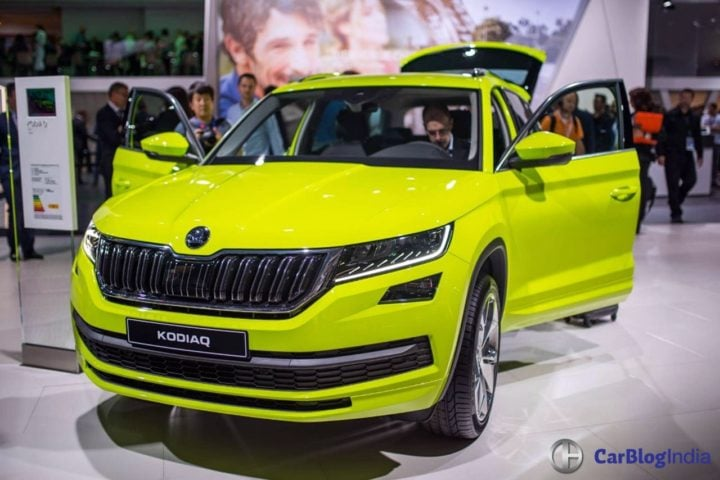Skoda Kodiaq India Price Rs 27 lakh; Launch Date - September 2017-skoda-kodiaq-paris-motor-show-2