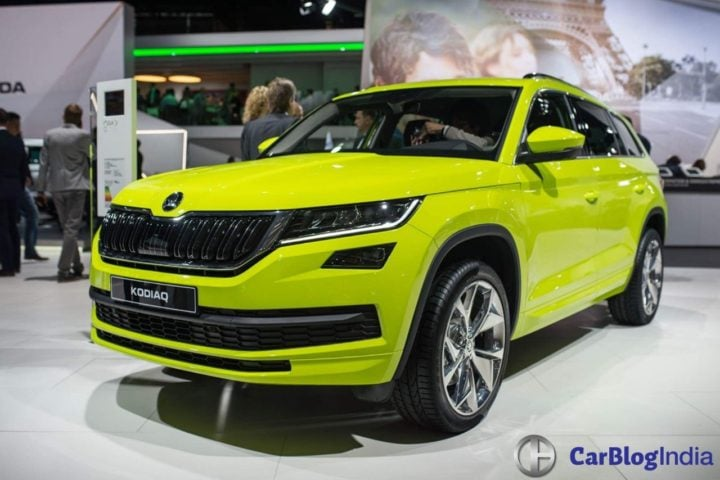 Skoda Kodiaq India Price Rs 27 lakh; Launch Date - September 2017 skoda-kodiaq-paris-motor-show-6