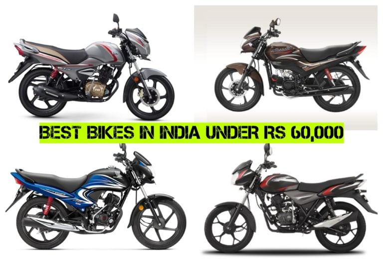 Best Bikes Under Rs 60000 – Mileage, Price, Specs And Features