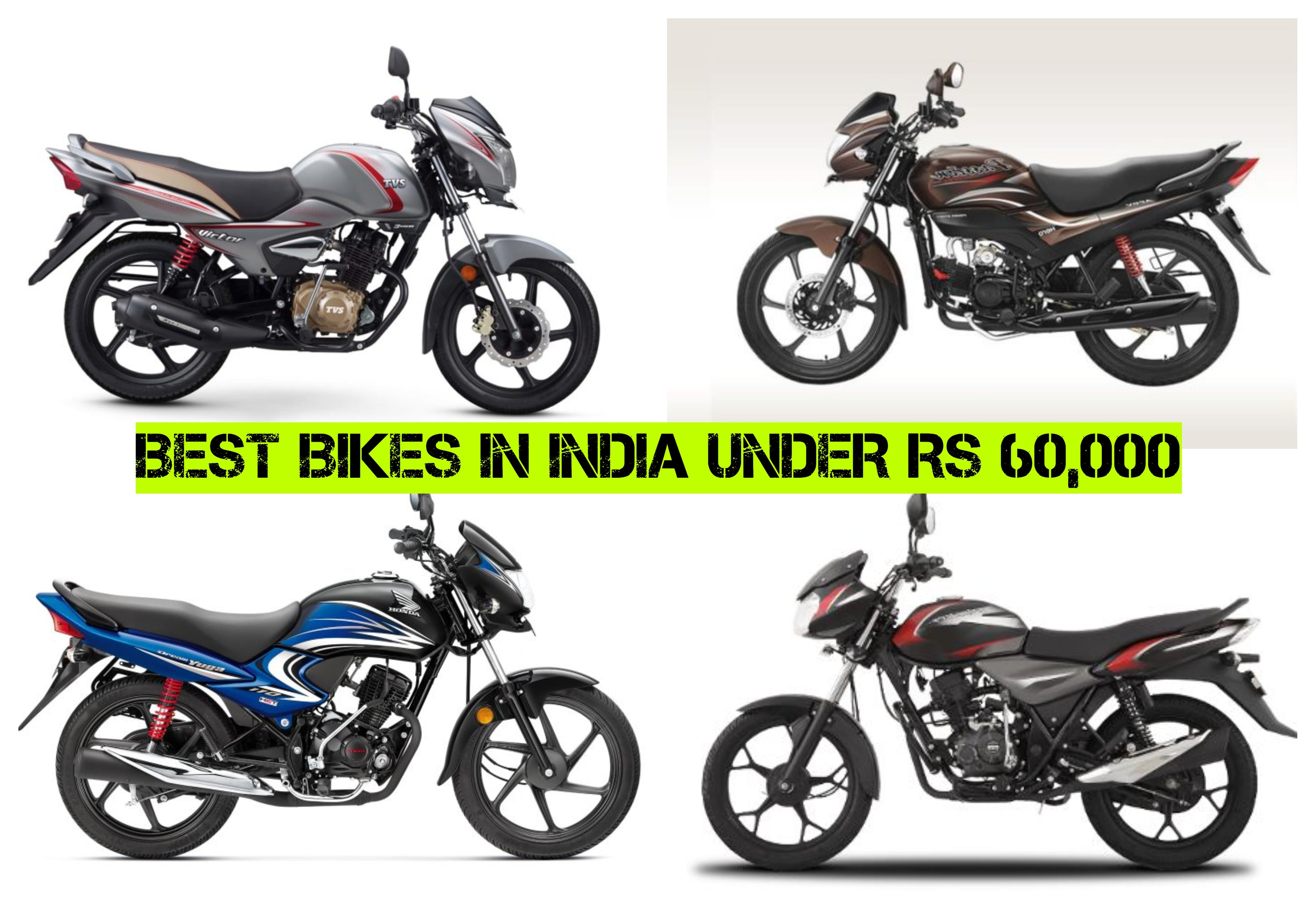 Best Bikes Under Rs 60000 Mileage Price Specs And Features