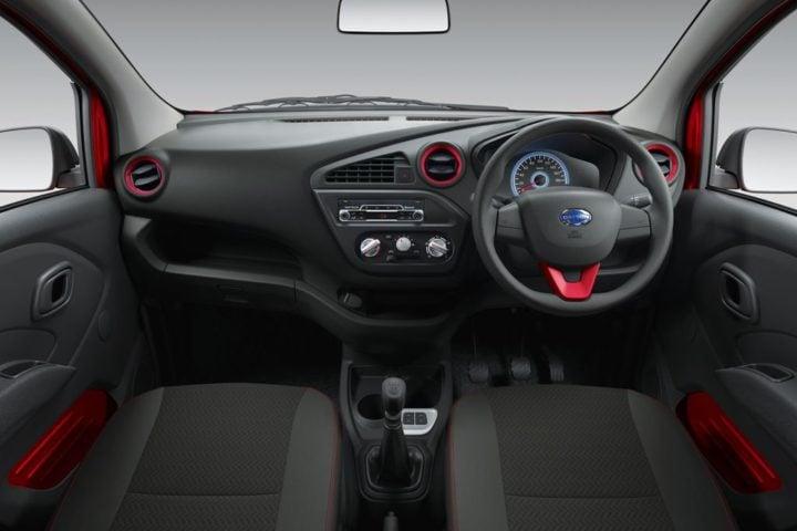 Limited Edition Datsun Redi Go Sport Price- 3.49 Lakh, Mileage, Images datsun-redi-go-sport-official-images-black-interior