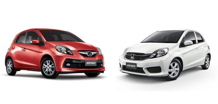 Honda Brio Old Vs New Model Comparison Review Of Price Specifications