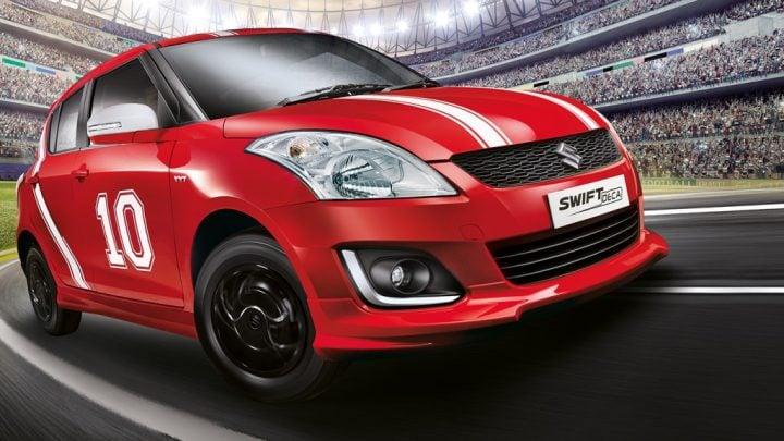 Maruti Suzuki Swift Deca Limited Edition Price, Images, Features Maruti-Suzuki-swift-deca-limited-edition-Body-Graphic