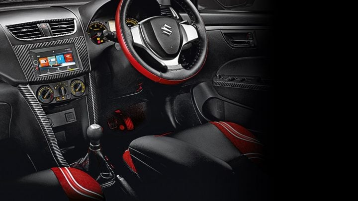 Maruti Suzuki Swift Deca Limited Edition Price, Images, Features Maruti-Suzuki-swift-deca-limited-edition-Interior-Styling-Kit