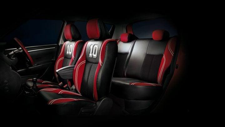 Maruti Suzuki Swift Deca Limited Edition Price, Images, Features Maruti-Suzuki-swift-deca-limited-edition-Seat-interior