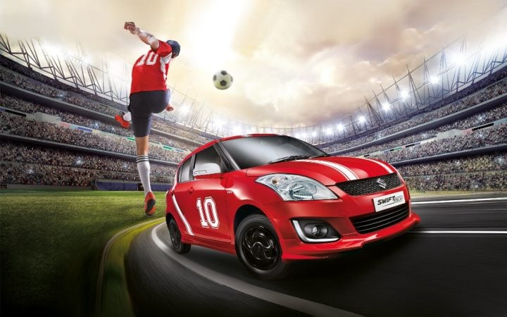 Maruti Suzuki Swift Deca Limited Edition Price, Images, Features Maruti-Suzuki-swift-deca-limited-edition-football