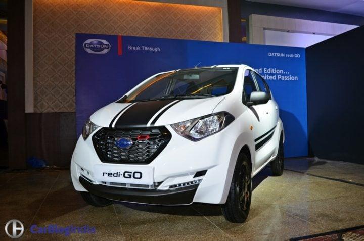Limited Edition Datsun Redi Go Sport Price- 3.49 Lakh, Mileage, Images datsun-redigo-sport-launch-image-white