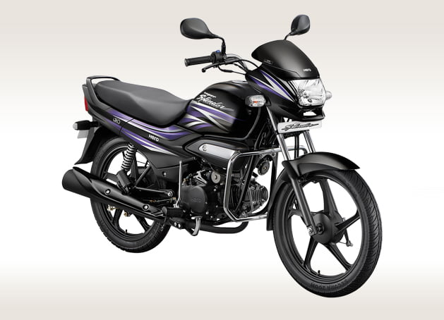 New Hero Super Splendor Ismart 125cc Front Angle
