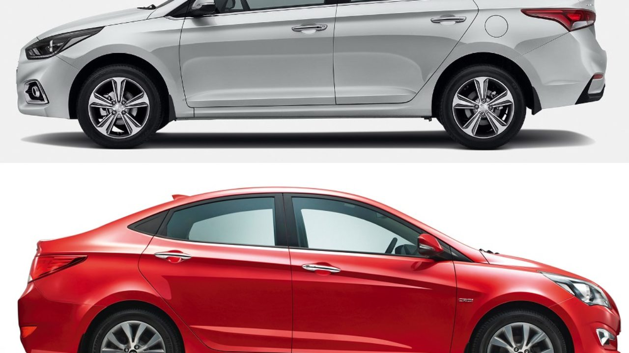 New 2017 Hyundai Verna vs Old Model Comparison - Price, Specifications
