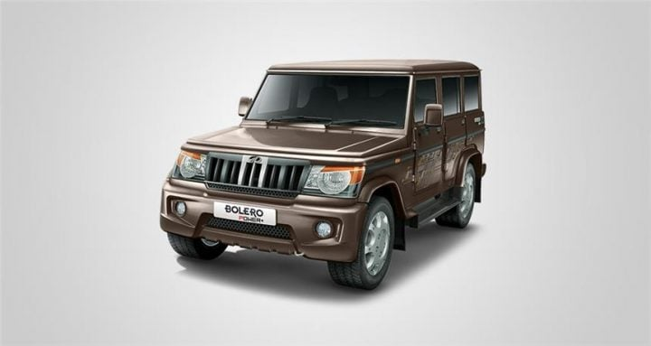 New Upcoming SUV Cars in India 2016 mahindra bolero power plus-images-front-angle