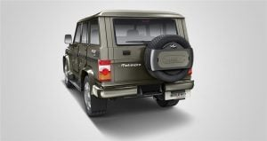 mahindra bolero power plus-images-rear-angle