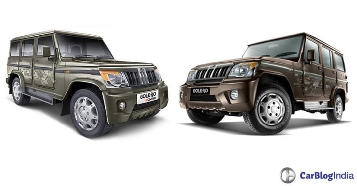 Mahindra Bolero Power Plus vs Mahindra Bolero Comparison of Price, Mileage