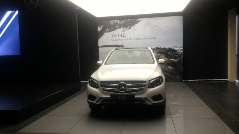 """""""Made in India"""" Mercedes GLC Launched! Prices Start at Rs. 47.90 Lakh!!"""
