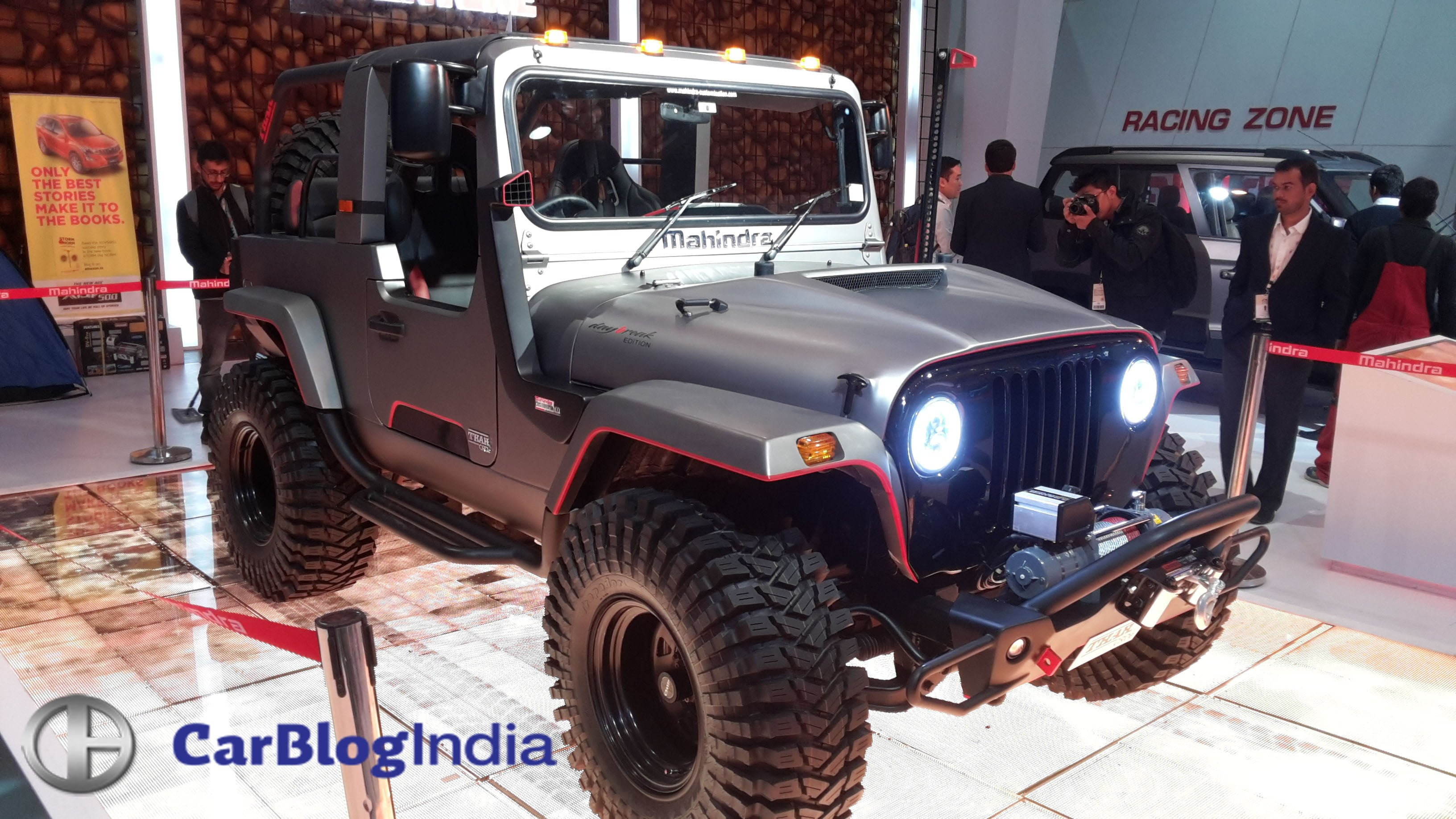 Modified Mahindra Thar Images 4 Carblogindia