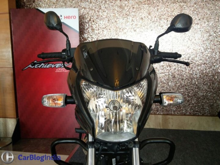 New Model Hero Achiever 2016 Price- Rs 61,800; Mileage, Specifications new-hero-achiever-launch-images-headlight-2