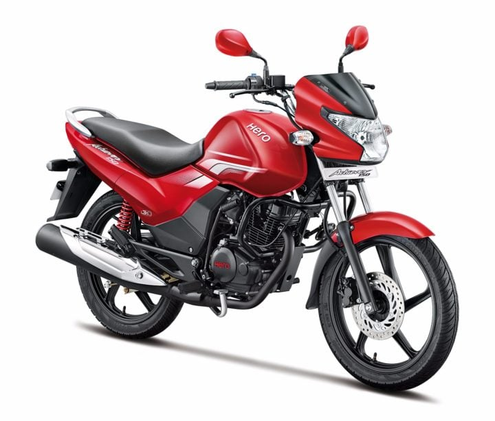 New Model Hero Achiever 2016 Price- Rs 61,800; Mileage, Specifications new-hero-achiever-official-images-red