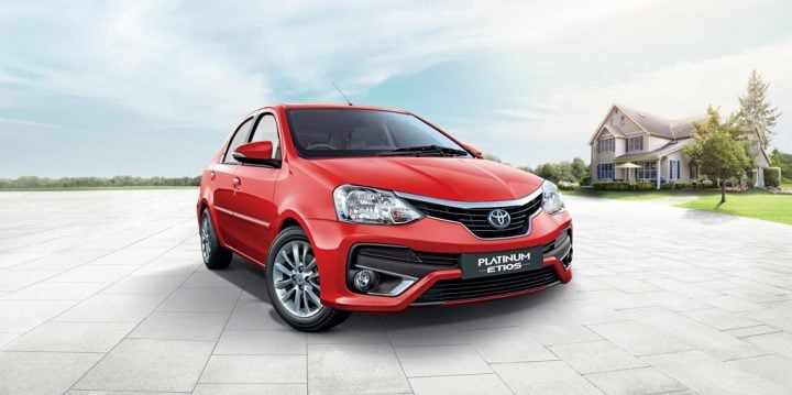 upcoming new cars in india 2016, 2017 - new toyota etios platinum 2016-red-official-images-front-angle
