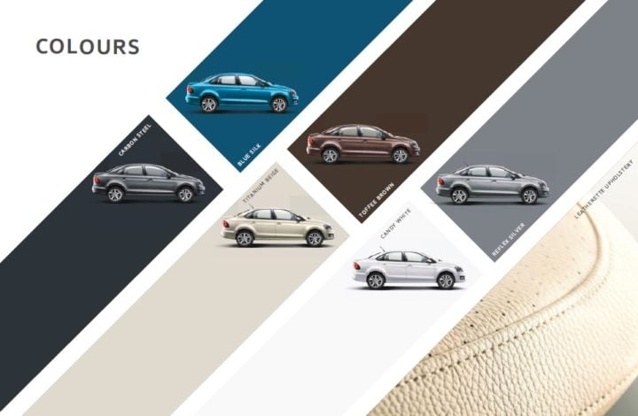 volkswagen vento highline plus colour options