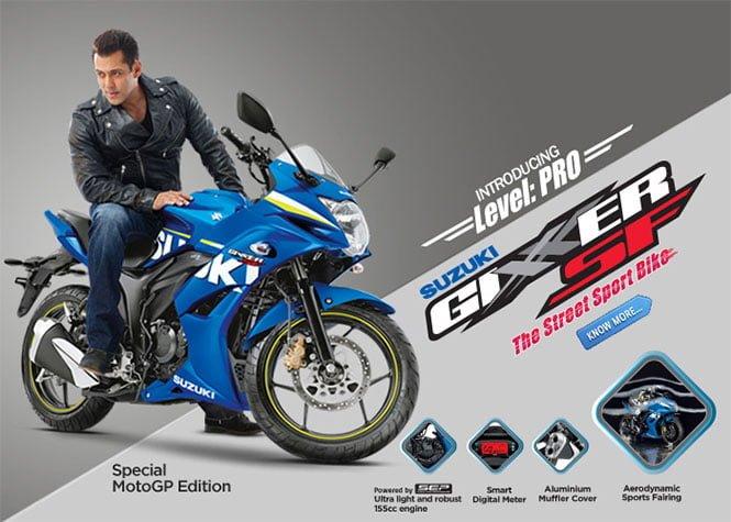 Suzuki Gixxer SF Fuel Injection Price- 93499, Mileage- 55 KMPL, Specs