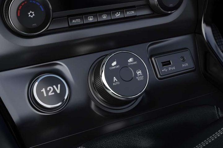 tata hexa super driving modes-selector