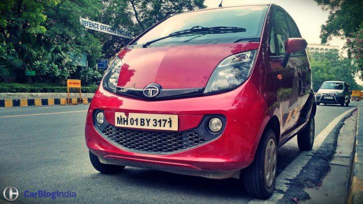 Best Mileage Automatic Cars - Tata Nano AMT