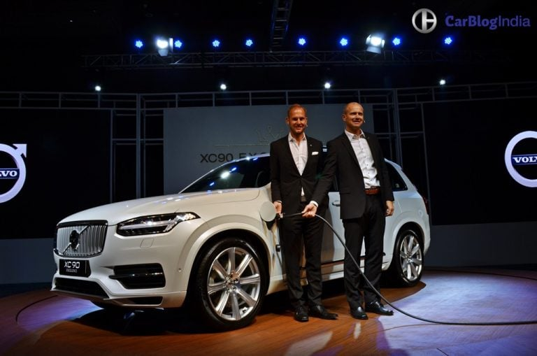 Volvo XC90 T8 Excellence Plug-in Hybrid Launched in India at Rs. 1.25 crore