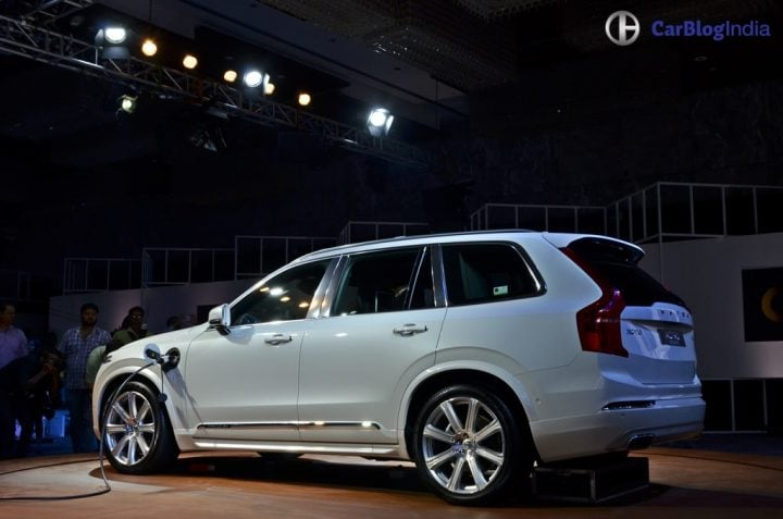 Hybrid Cars in India - Volvo XC90 T8 Hybrid