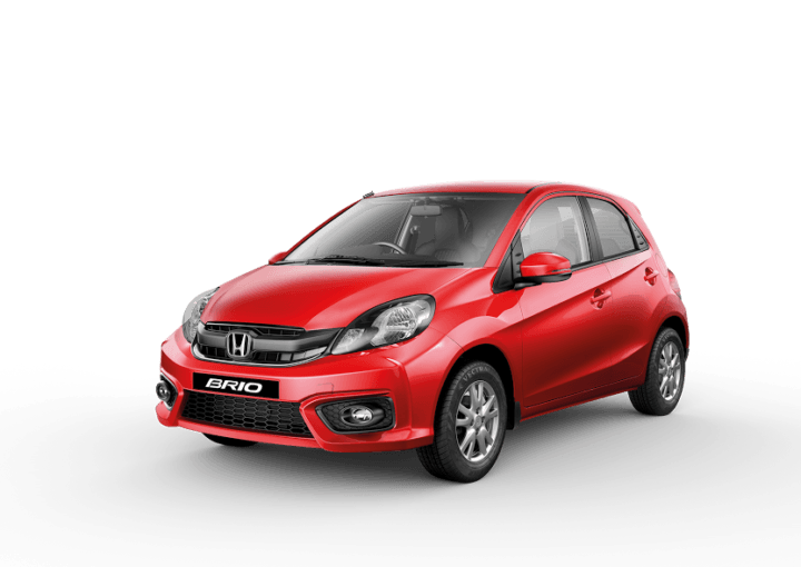 New 2016 Honda Brio Price in India 4.69 lakh, Mileage, Specifications 2016-honda-brio-official-images-india-launch-red-front-angle