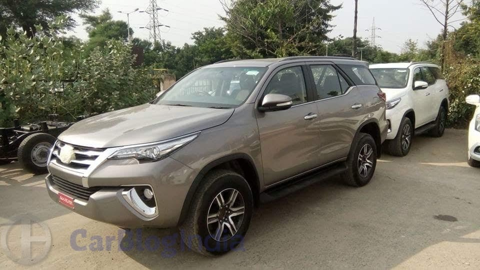New Toyota Fortuner 2016 India Price in India, Specifications, Mileage, Pics