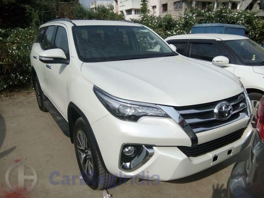 New Toyota Fortuner 2016 India Price In India
