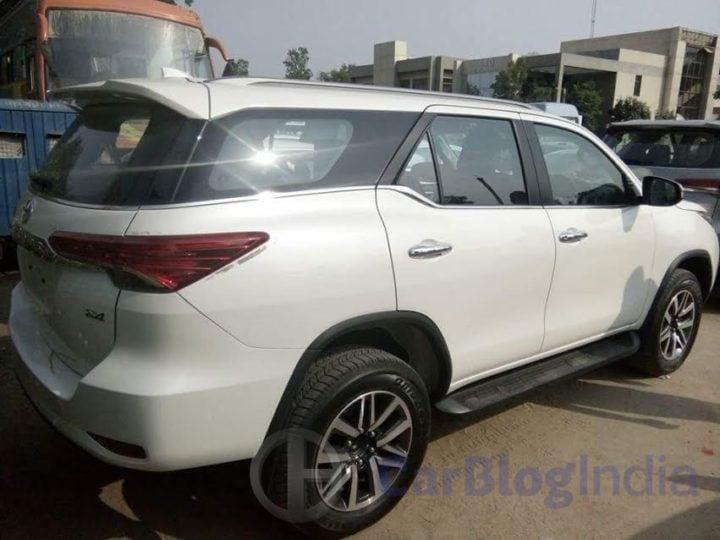 New 2016 Toyota Fortuner India Launch, Price, Release Date 2016-toyota-fortuner-india-spy-shots-rear-side