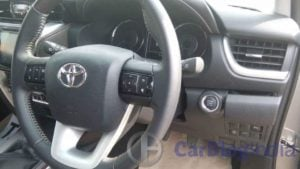 2016-toyota-fortuner-india-spy-shots-steering