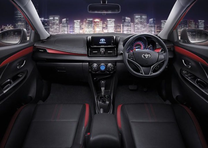 2017 Toyota Vios India Interior Review images
