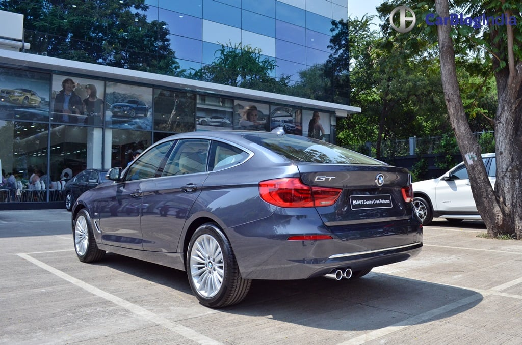 2017 Bmw 3 Series Gt India Launch Rear
